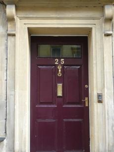 JA's second residence No. 25 GayStreet