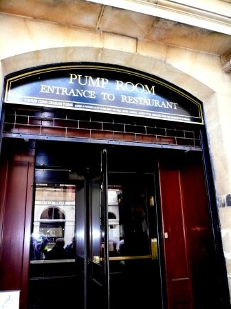 The Pump Room Entrance