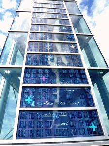 Lux Nova Art Glass Close Up 2