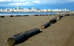 Vancouver skyline from Spanish Bay