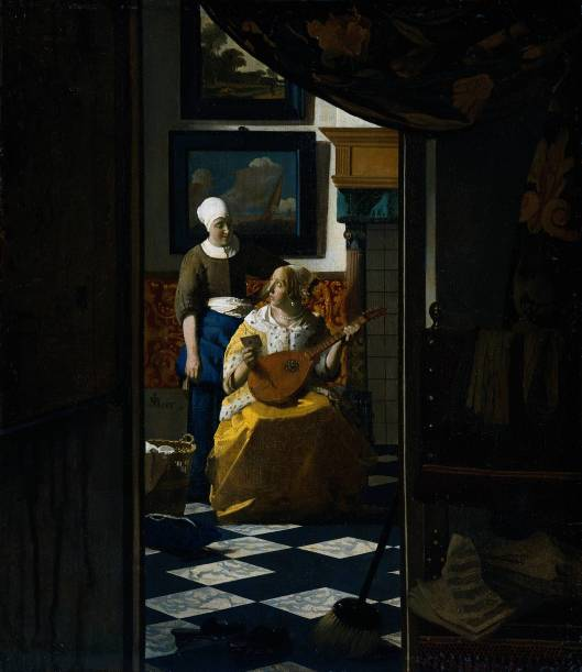 Vermeer's The Love Letter