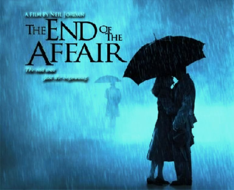 the end of the affair The novelist maurice bendrix's love affair with his friend's wife, sarah, had begun in london during the blitz one day, inexplicably and without warning, sarah had broken off the relationship it seemed impossible that there could be a rival for her heart yet two years later, driven by obsessive jealousy and grief, bendrix sends pakris, a private.