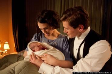 Sybil, Tom & baby