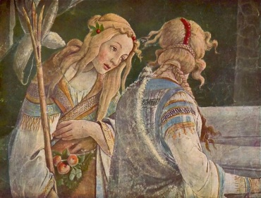 Zipporah, Jethro's Daughter by Botticelli