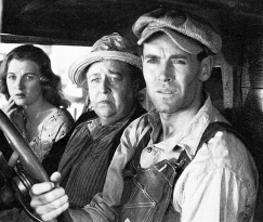 Family Joad in The Grapes of Wrath