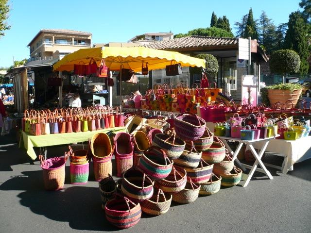 Street Market in Vaison