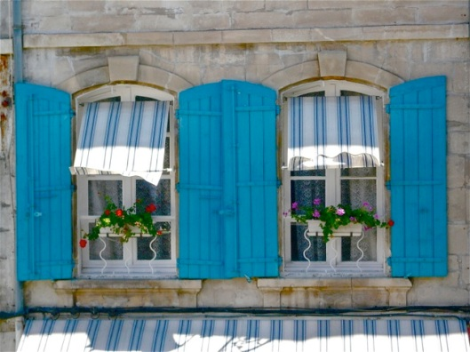 Blue Windows in Arles