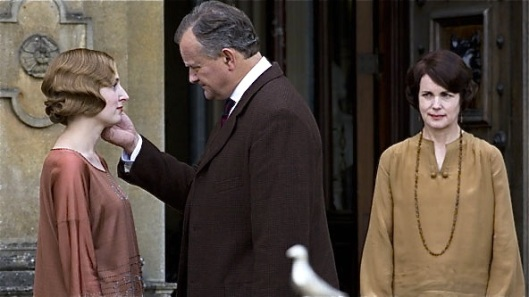 Downton S4E6 Robert goes to America