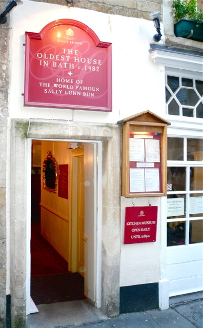Sally Lunn Bun entrance
