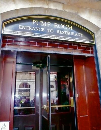 The Pump Room Entrance