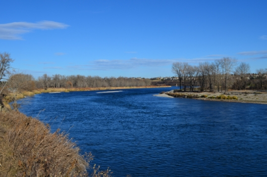 Beautiful Blue Bow River