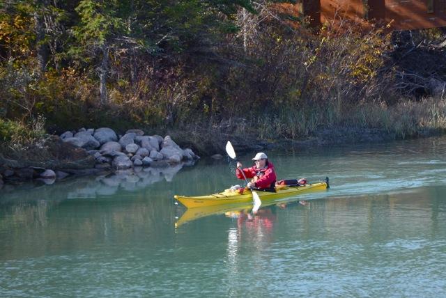 Yellow Kayak 2