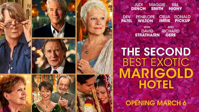 The Second, Best Exotic Marigold Hotel (2015) | Ripple Effects