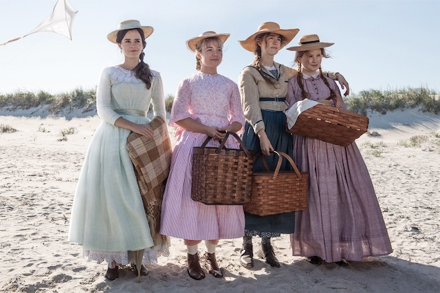 Beach Scene in Greta Gerwig's Little Women