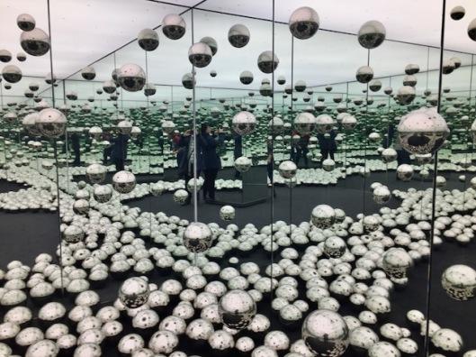 Yayoi Kusama's Infinity Mirrored Room